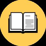 Zesty print book icon